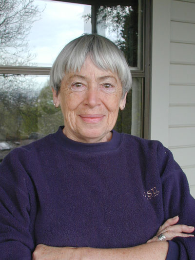 Ursula K. Le Guin -- Photo by Eileen Gunn