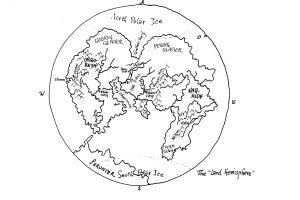 The Planet Gethen: The Land Hemisphere